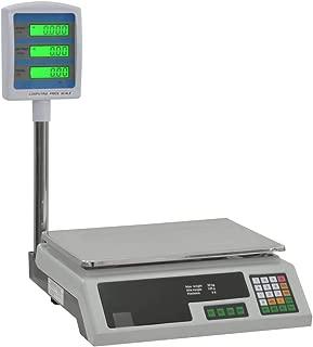 vidaXL Báscula Electrónica de Mesa con Pantalla LCD 30kg Medición Balanza Peso