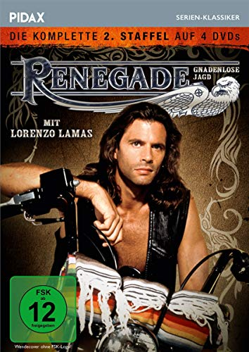 Renegade - Gnadenlose Jagd, Staffel 2 / Weitere 22 Folgen der Kultserie (Pidax Serien-Klassiker) [4 DVDs]
