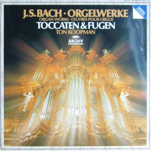 Bach - Orgelwerke / Organ Works: Toccaten & Fugen [Vinyl LP] [Schallplatte]