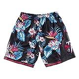 Mitchell & Ness Floral Swingman T Raptors - Pantalones cortos multicolor XXL
