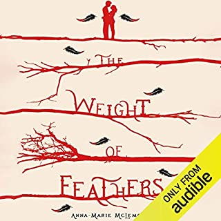 The Weight of Feathers audiobook cover art