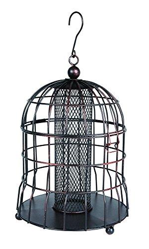 Gardman BA09604 Vogelfutterstation für Vögel, Eichhörnchenfest, bronzefarben
