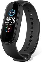 Xiaomi Mi Band 5, slimme armband, fitnesstracker, hartslagmeter, smartwatch met 1,1-inch AMOLED-kleurenscherm, sporthorlog...