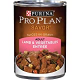 Purina Pro Plan Gravy Wet Dog Food, SAVOR Lamb & Vegetables Entree - (12) 13 oz. Cans