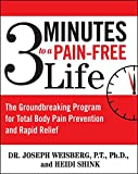3 Minutes to a Pain-Free Life: The Groundbreaking Program for Total Body Pain Prevention and Rapid Relief - Joseph Weisberg