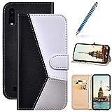 Robinsoni Custodia Compatibile con Samsung Galaxy A10 Cover Libretto Magnetica Cover Porta...