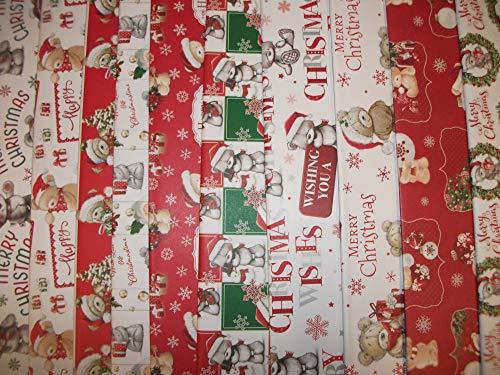 20 fogli di carta regalo natalizia carina – Carta da regalo