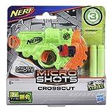 Hasbro- Nerf MicroShots Zombie Strike Crosscut - Disco de microcorte clásico, Color (E3001)