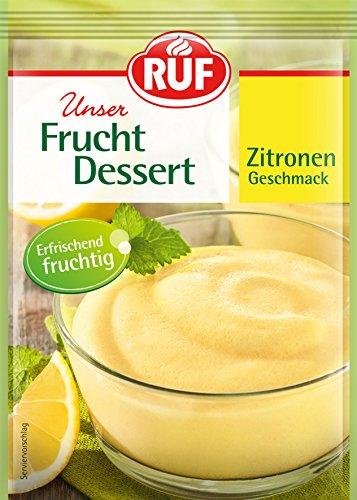 Ruf Frucht Dessert Zitrone, 132 g