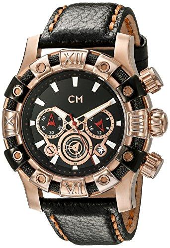 Carlo Monti CM122-322 - Orologio da polso uomo, pelle, colore: nero