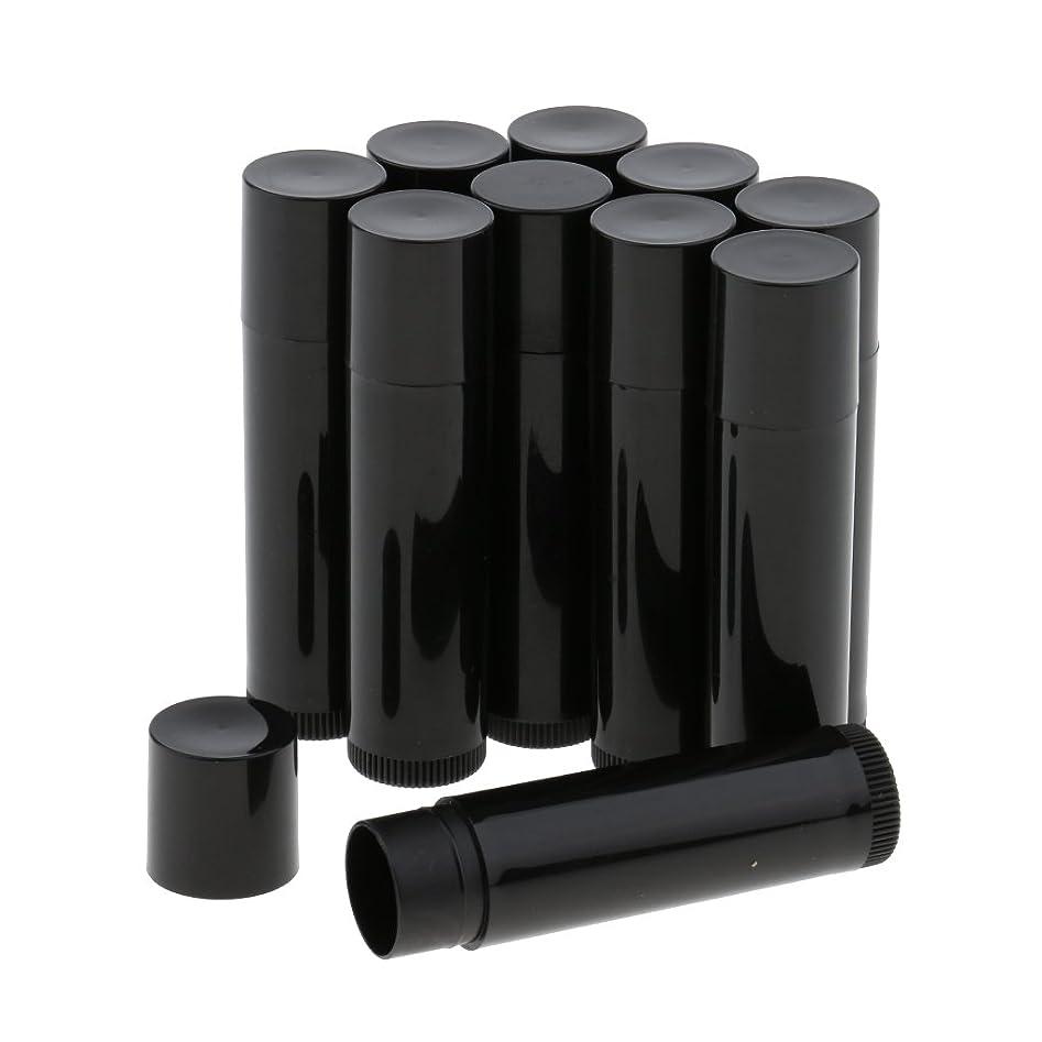 仕方マイルストーンの前でBaosity 10個 空ボトル チューブ 化粧品 コスメ DIY 詰替え 便利 3色選べ - ブラック