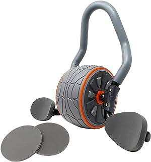 腹筋ローラー プランクローラー 初心者 プランク 体幹 トレーニング 静音 膝パット付 アブローラー