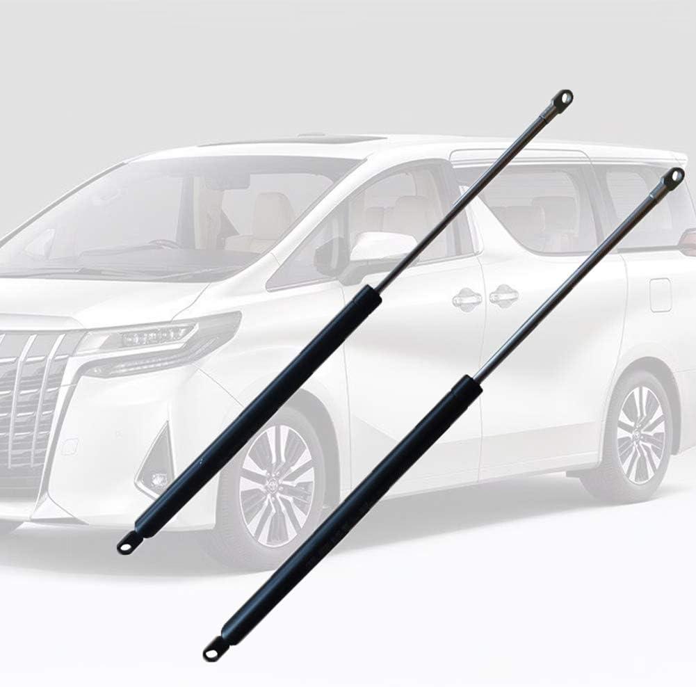 2PCS Gas Struts,Lift Supports,Gas Spring//Prop//Shock//Lift Support,Support Tool Caravan Motorhome Apply Black Gas Struts for Seitz Heki 2