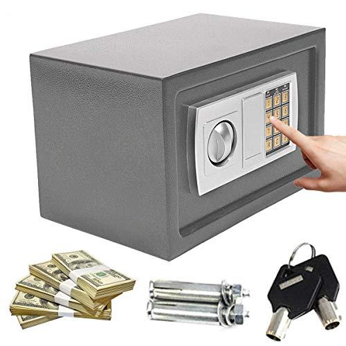 Large 8.5 Litre (34cm x 20cm x 20cm) Electronic Safe, Cash Box, Home Safe,...