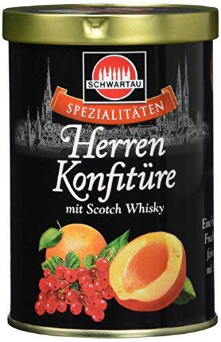 Schwartau Spezialitäten Herren Konfitüre, mit Scotch Whisky, 6er Pack (6 x 350 g Dose)