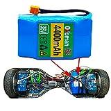 "LUC 36V 4.4Ah 4400mah Alto Drenaje 2 Ruedas Scooter electrico Auto Equilibrio Paquete de baterías de Litio para Autoequilibrante para 6.5""7"""
