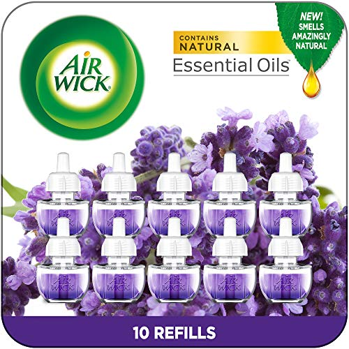 Air Wick Plug in Scented Oil Refills, Lavender and...