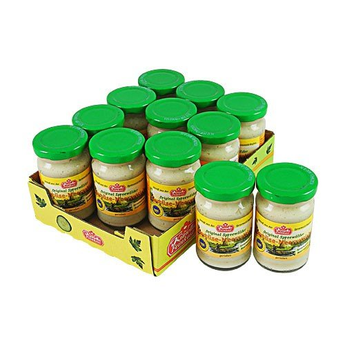 Kunella Gemüsemeerrettich 12er Pack (12 Gläschen à 100 g)