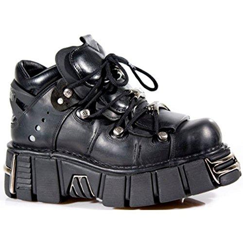 New Rock Tower Unisex Stiefel Echtleder Herren Damen Design Gothic Boots