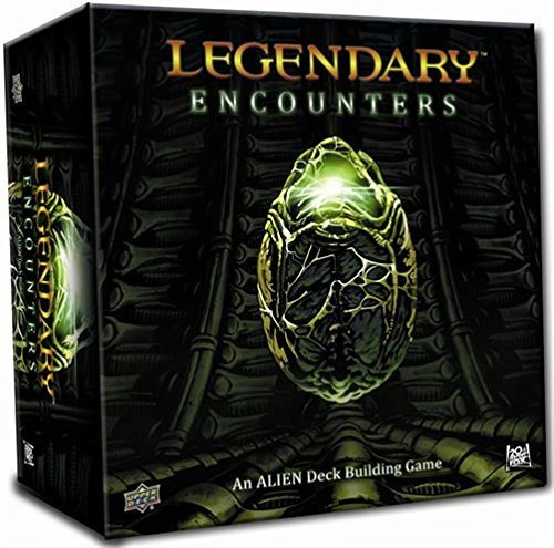 Legendary Encounters: An Alien Deck Building Game by Upper Deck