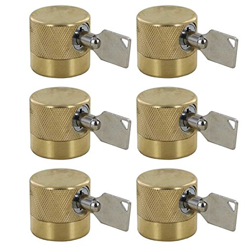 Water Faucet Lock FSS 50 - Keyed Alike - 6 Pack