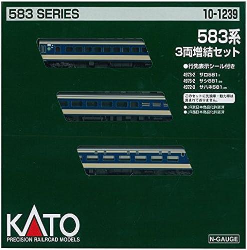 KATO Spur N 583 System Haematopoese 3-Car Set 10-1239 Modelleisenbahn Zug