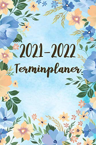 2021-2022 Terminplaner: Kosmetikstudio & Nagelstudio Terminbuch | Tagesplaner/Wochenplaner (A5), Wochenkalender, Organizer - Kosmetiker Geschenke