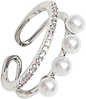 خواتم متموجة عقد ذهبية من سيفنستون للنساء قابلة للتعديل إصبع المفاصل تكديس الإبهام مجموعة خاتم بسيطة مفتوحة
