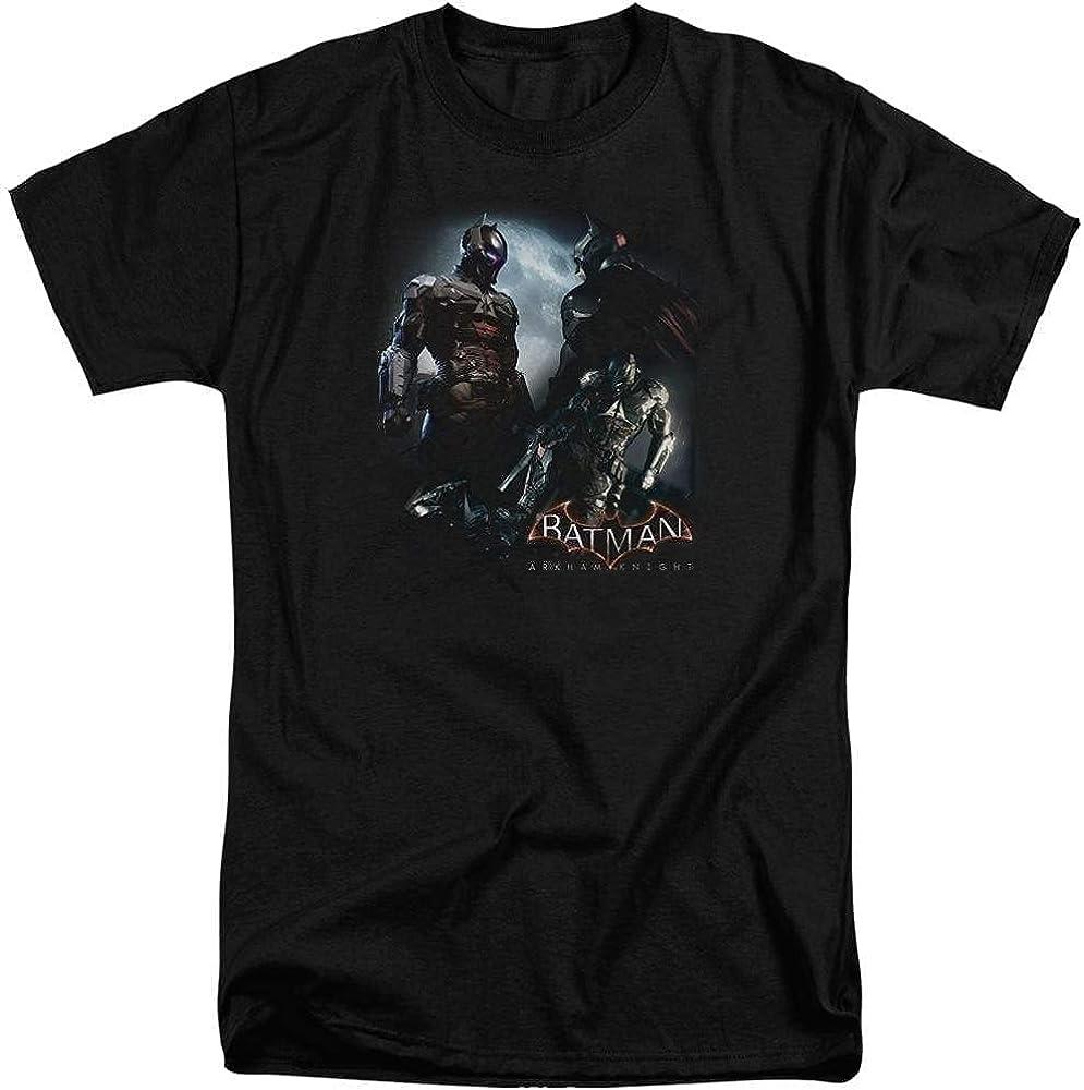Batman Arkham Knight Face Off Adult Tall Fit T-Shirt
