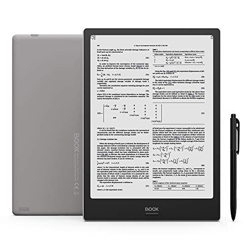 BOOX Note+ 10.3  E-Reader con Custodia, Android 6.0, 2GB + 32GB, 4100mAh Wi-Fi Grigio