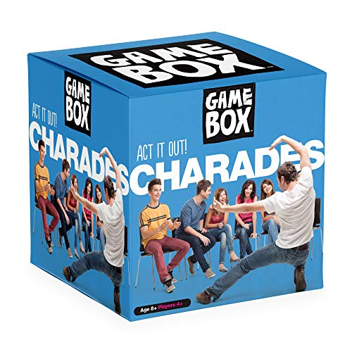 Imagination Card Games Game Box Act It Out Charades - Fun Party Game