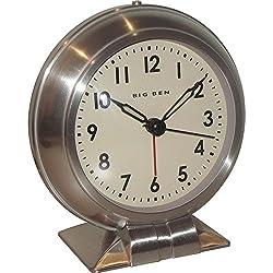 Westclox Metal Big Ben Alarm Clock NYL90010A
