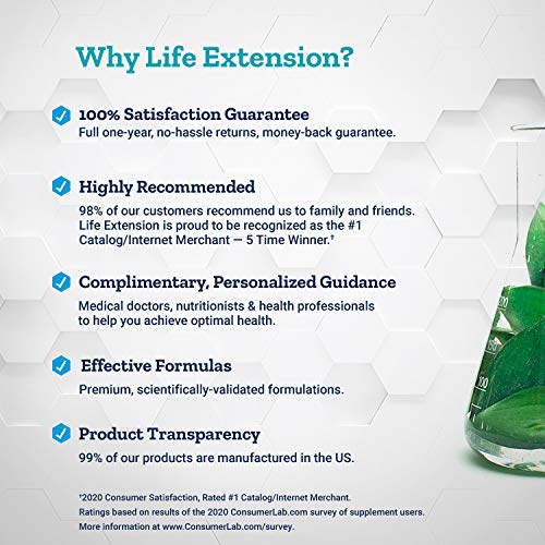 Life Extension Anti-Alcohol HepatoProtection Complex, 60 Vcaps, 100 g