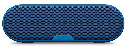 Sony SRS-XB2 - Altavoz portátil (Exta Bass, Bluetooth, NFC, Inalámbrico, batería de hasta 12 Horas, Resistente al Agua), Azul