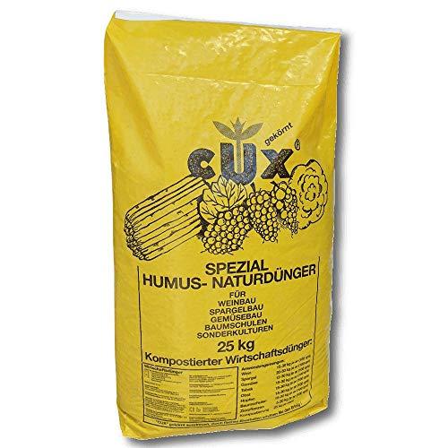 Cuxin Humuskorn gebröselt 25 kg Gartendünger Naturdünger Universaldünger Gemüse