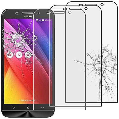 ebestStar - kompatibel mit Asus Zenfone Max Panzerglas x3 ZC550KL Schutzfolie Glas, Schutzglas Bildschirmschutz, Bildschirmschutzfolie 9H gehärtes Glas [Phone: 156 x 77.5 x 10.6mm, 5.5'']