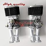 yise-K0287 New FAJS Carburetor Carb Conversion Kit 40IDF 40 mm IDF T4 Type 4 40IDF Carbs for Porsch 356A 356B 356C 356SC SC90 912
