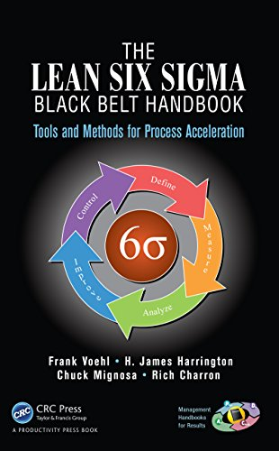 The Lean Six Sigma Black Belt Handbook: Tools and Methods for Process Acceleration (Management Handbooks for Results) (English Edition)