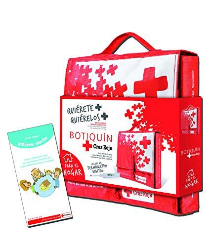 Botiquín Cruz Roja de Primeros Auxilios en Nylon para el Hogar- 1500 gr