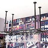 JPL Support à vin de salon, support à vin de restaurant, support à vin décoratif, supports à vin Bar Porte-verre à vin suspendu Support à verre à vin rouge à l'envers Porte-gobelet à Ccompliment N'im