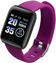 Smart Horloge Smart Horloges Plus Hartslaghorloge Smart Polsband Sport Horloges Smart Band Waterdicht Smartwatch Blauw, Paars
