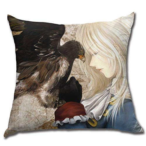 Hetalia Cotton Fleece Cool Hug Pillowcase Style Pillowcase Kissenbezüge 18x18Inch(45cmx45cm)