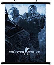 Modern style Home Decor Custom Poster with Counter Strike Global Offensive Cs Counter Strike Global Offensive Ss Go Wall S...