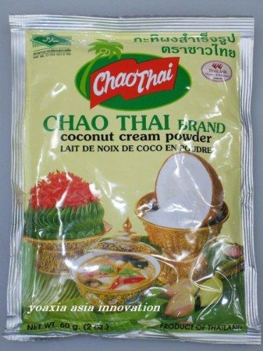 [ 6x 60g ] CHAO THAI Kokosmilchpulver Kokos Cream Pulver