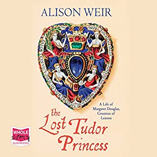 The Lost Tudor Princess cover art