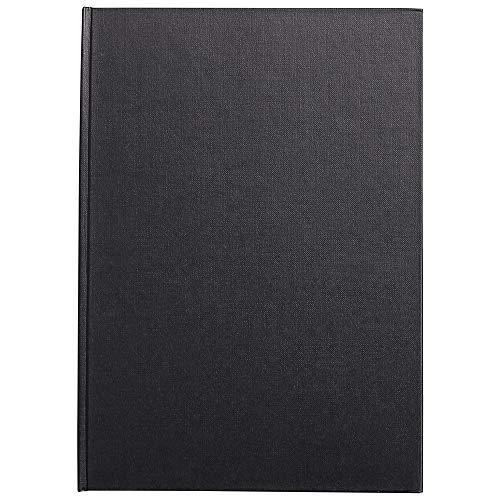 Clairefontaine 34243C Skizzenbuch mit Fadenbindung Geleimt hoch Goldine, Din A4, 21 x 29.7 cm, 140 g, weiß