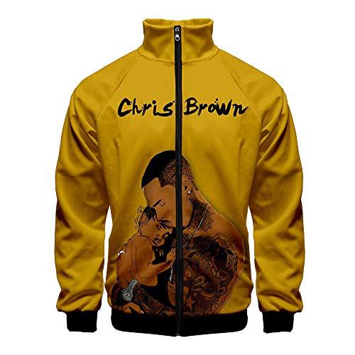Chris Brown Pullover Capa de la Chaqueta del Hombre y de la...