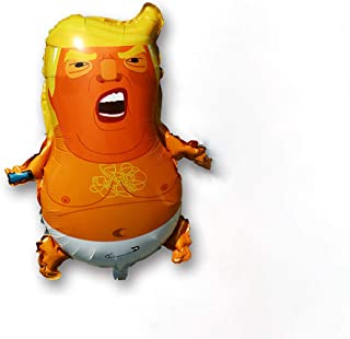 9 Pack Trump Baby Balloon - Big Inflatable 24 Inches - Gag Toy,Perfect for Parties and Pranks Present
