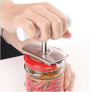 Abridor de botellas con tapón de rosca, tapón de rosca, abrelatas de cristal, herramienta de apriete de acero inoxidable para ahorro de mano de obra