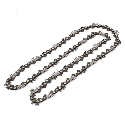 SODIAL 20 pulgadas Cuhcilla de cadena de motosierra Piezas de motosierra de corte de madera 76 enlaces de unidad 0.325 .058 paso Cadena de serreria de motosierra
